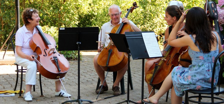 Just a couple of places left for a fabulous cello holiday in sunny S.W. France