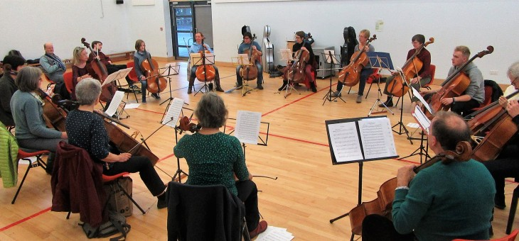Autumn 2018 Cello Day in London, bookings now open!